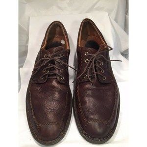 Born Dark Brown Leather Shoes Casual Men's 13 M